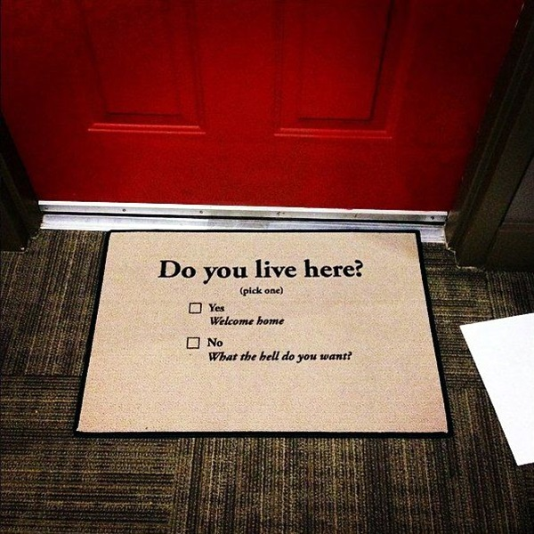 Brilliant Door Mats For Every Cool Human Being (29)