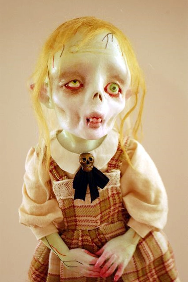 Disturbing DOLL ART Crafts which will Stay in your mind (1)