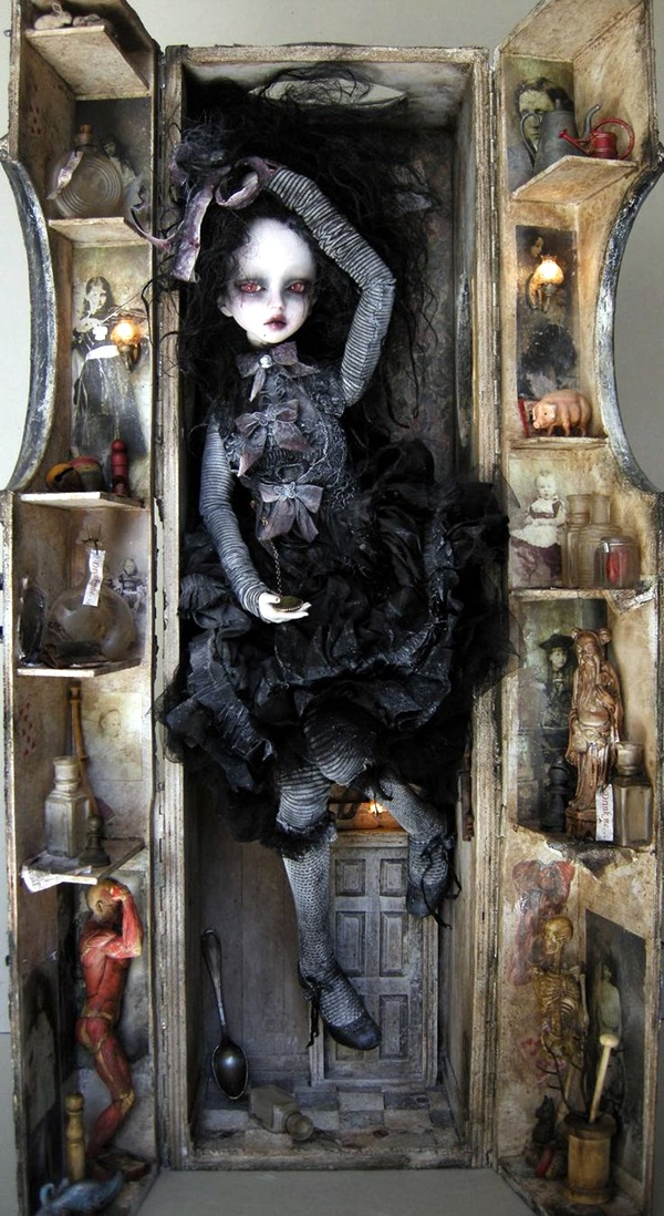 Disturbing DOLL ART Crafts which will Stay in your mind (14)
