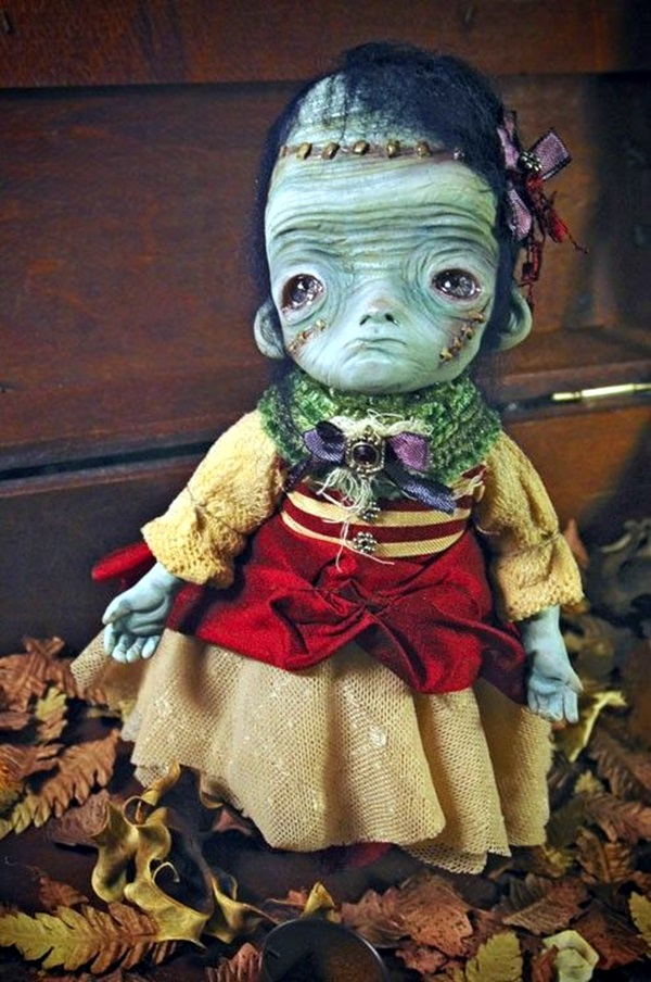 Disturbing DOLL ART Crafts which will Stay in your mind (15)