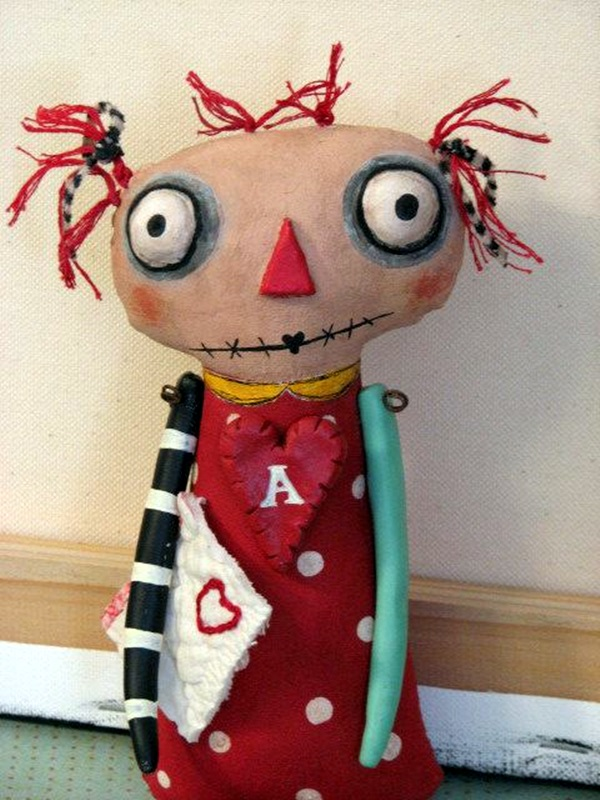 Disturbing DOLL ART Crafts which will Stay in your mind (20)