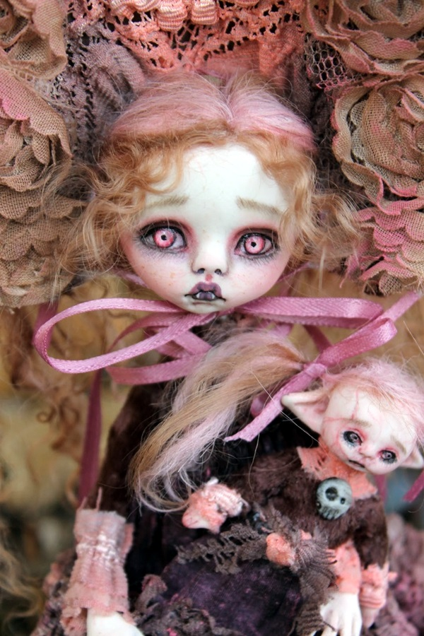 Disturbing DOLL ART Crafts which will Stay in your mind (21)