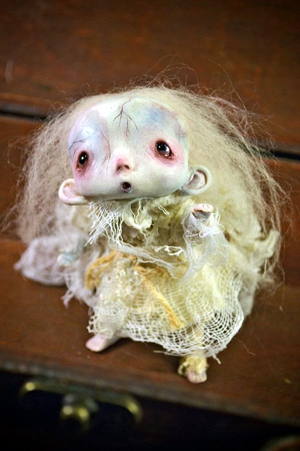 Disturbing DOLL ART Crafts which will Stay in your mind (25)