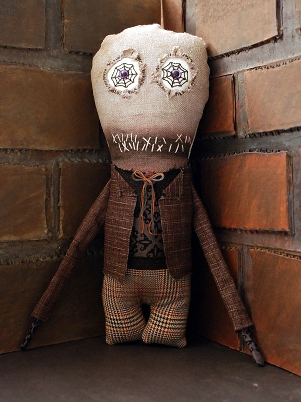 Disturbing DOLL ART Crafts which will Stay in your mind (26)