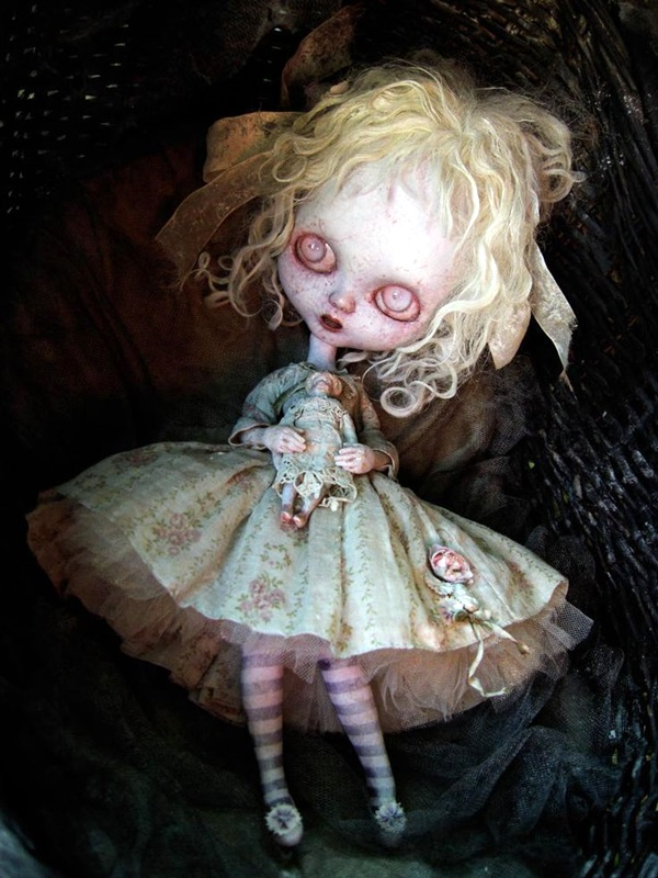 Disturbing DOLL ART Crafts which will Stay in your mind (27)