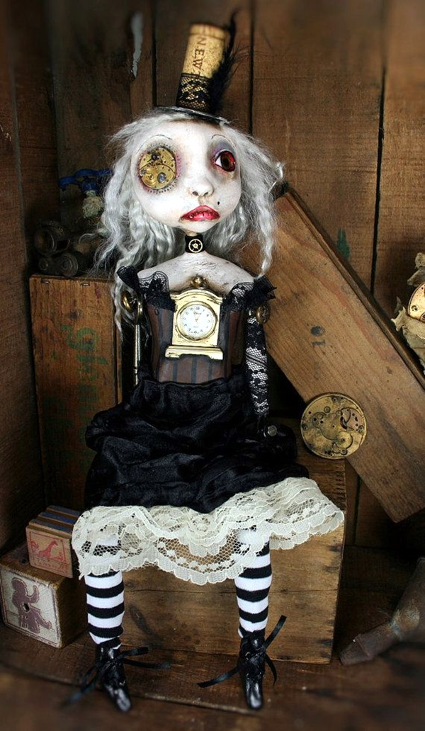 Disturbing DOLL ART Crafts which will Stay in your mind (29)