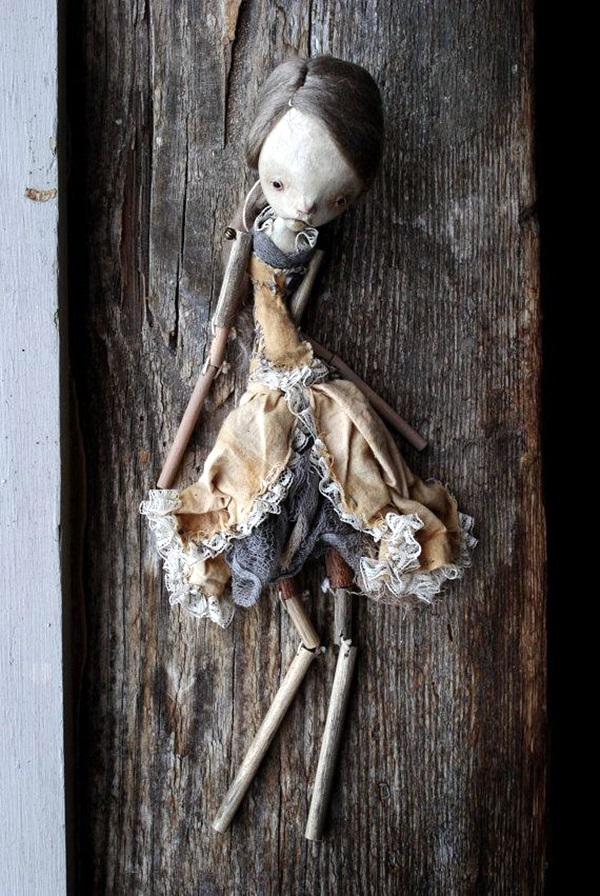 Disturbing DOLL ART Crafts which will Stay in your mind (33)