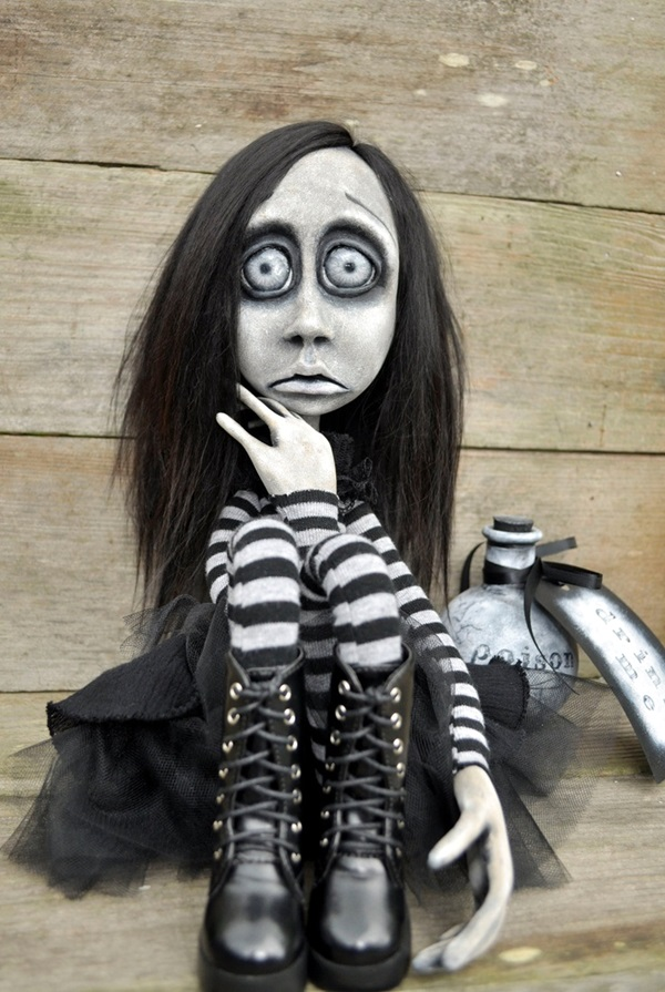 Disturbing DOLL ART Crafts which will Stay in your mind (34)