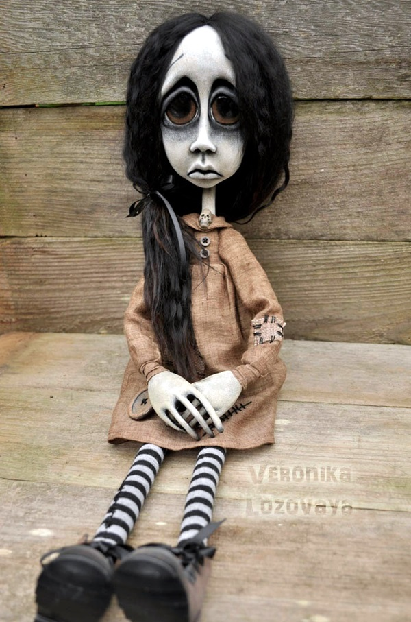 Disturbing DOLL ART Crafts which will Stay in your mind (38)