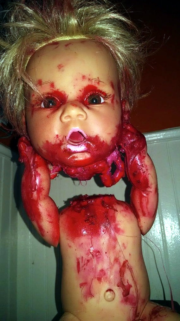 Disturbing DOLL ART Crafts which will Stay in your mind (40)
