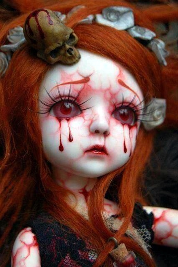 Disturbing DOLL ART Crafts which will Stay in your mind (41)