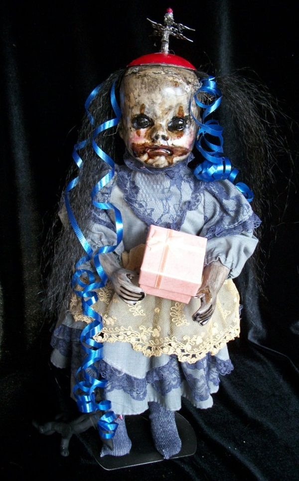 Disturbing DOLL ART Crafts which will Stay in your mind (46)