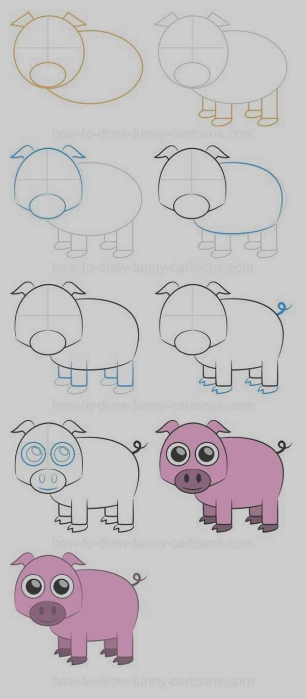 Easy Step by Step Art Drawings to Practice (11)
