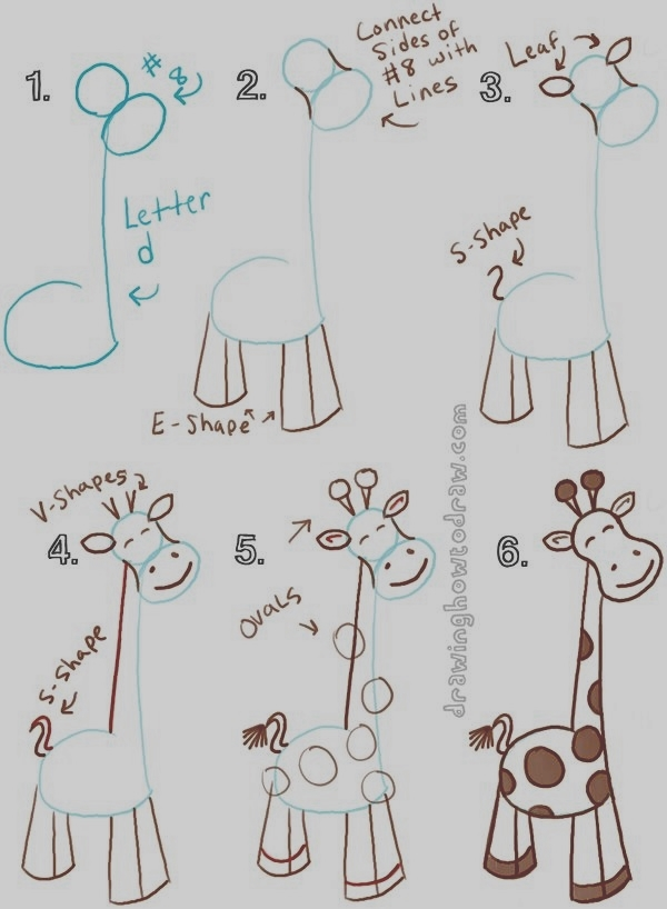 Easy Step by Step Art Drawings to Practice (18)