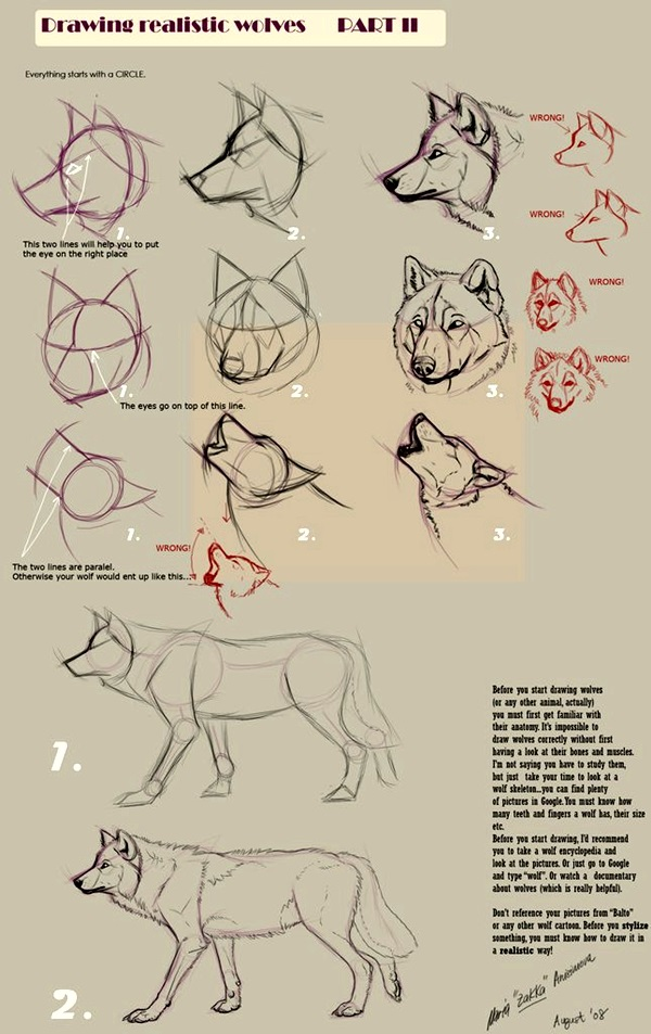 Easy Step by Step Art Drawings to Practice (21)