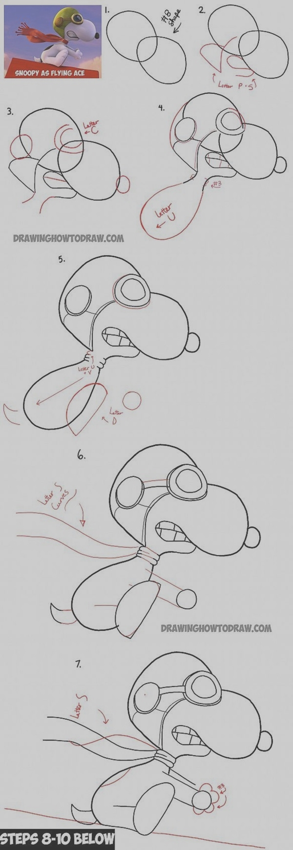 Easy Step by Step Art Drawings to Practice (25)