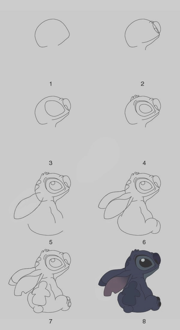 Easy Step by Step Art Drawings to Practice (27)