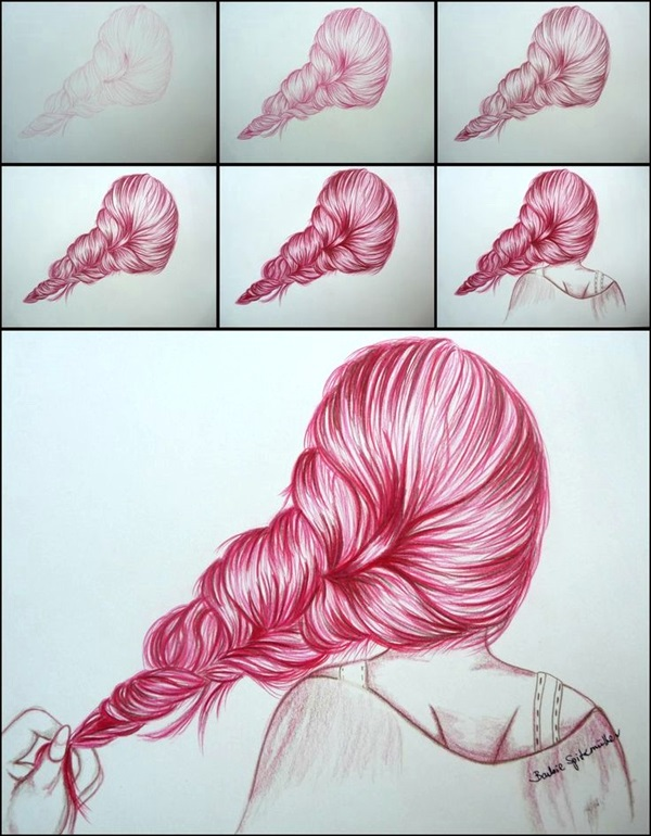 Easy Step by Step Art Drawings to Practice (39)