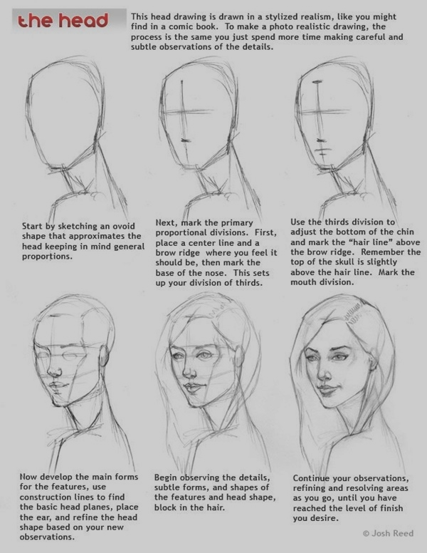 Easy Step by Step Art Drawings to Practice (41)