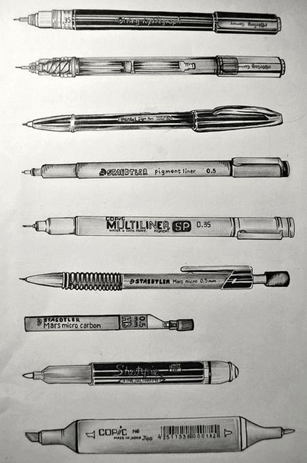 Excellent observational drawing Ideas (21)