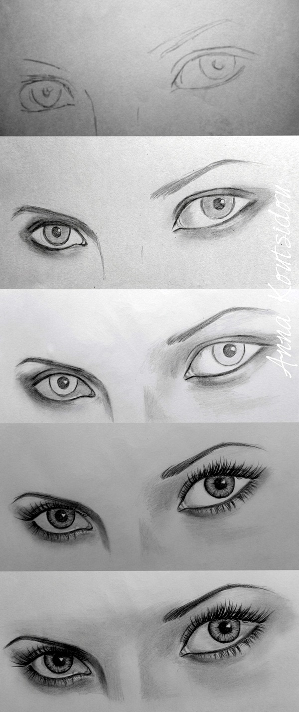 How to Draw an EYE (17)