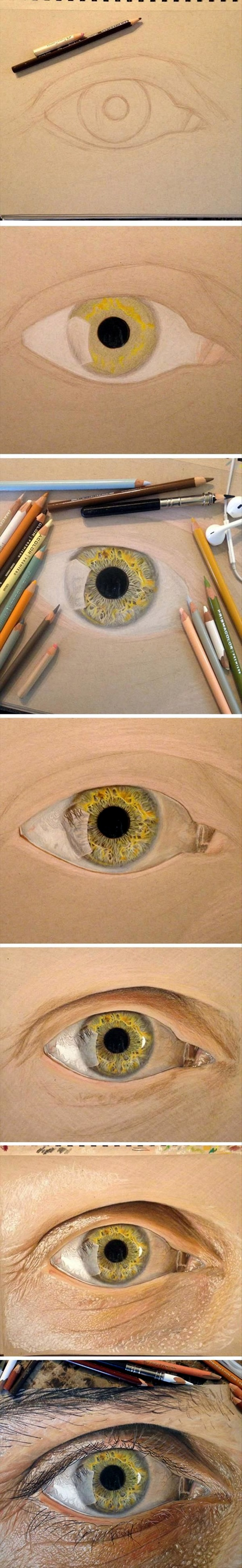 How to Draw an EYE (25)