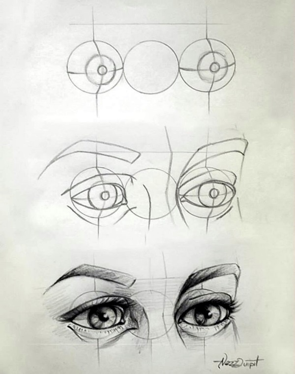 How to Draw an EYE (28)