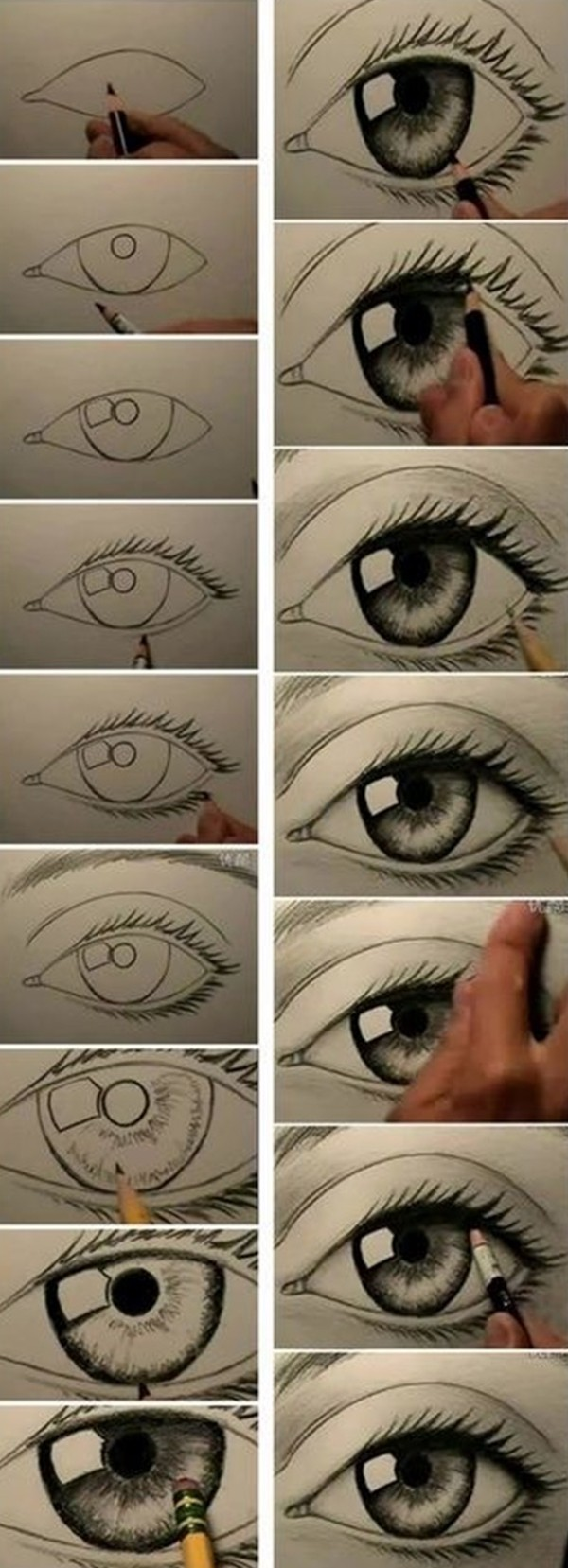 How to Draw an EYE (33)