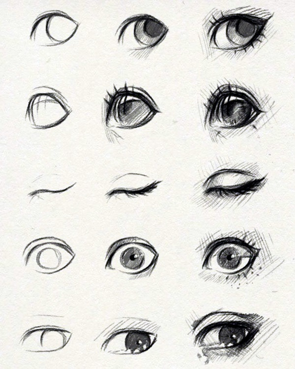 How to Draw an EYE (9)