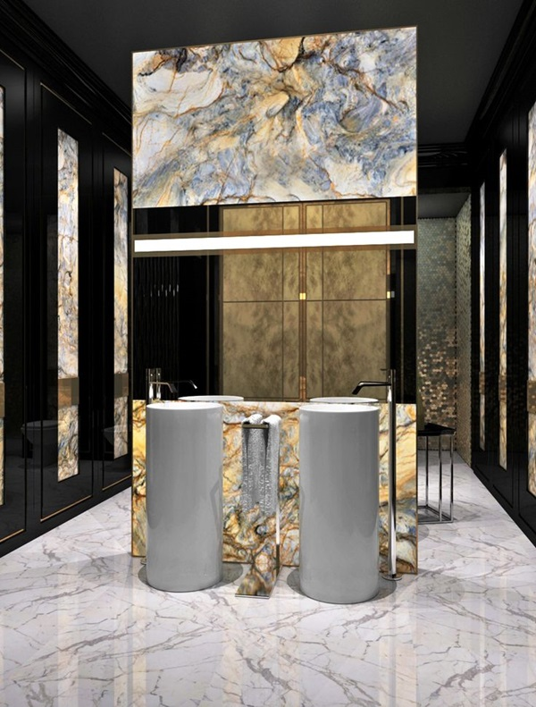 Luxury high end style bathroom Designs (22)
