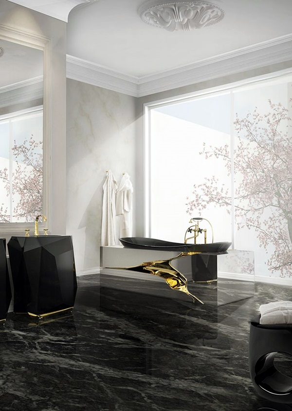 Luxury high end style bathroom Designs (34)