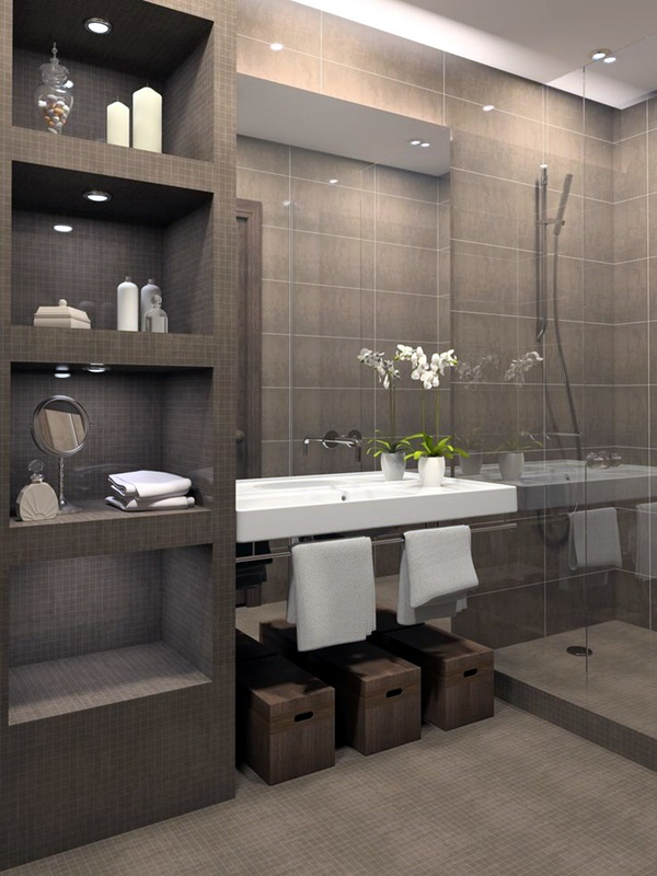 Luxury high end style bathroom Designs (38)