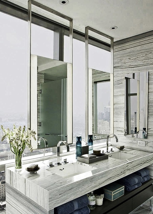 Luxury high end style bathroom Designs (39)