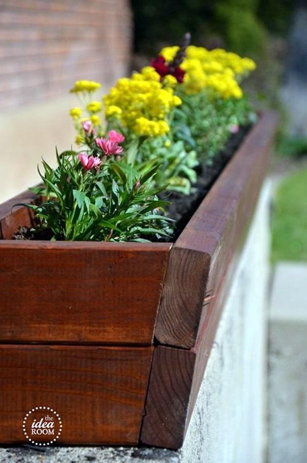 Magical window flower box ideas (1)