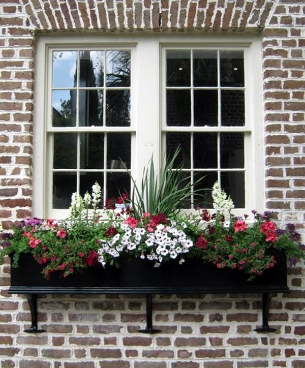 Magical window flower box ideas (10)
