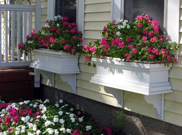Magical window flower box ideas (21)