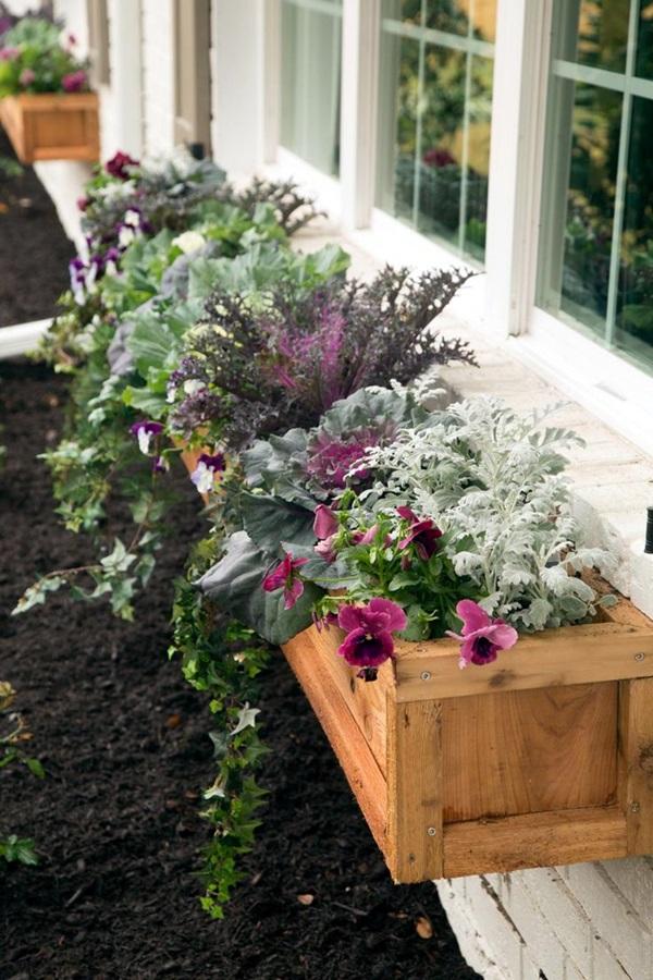 Magical window flower box ideas (26)