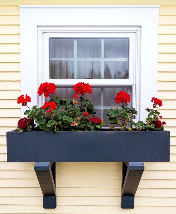 Magical window flower box ideas (5)