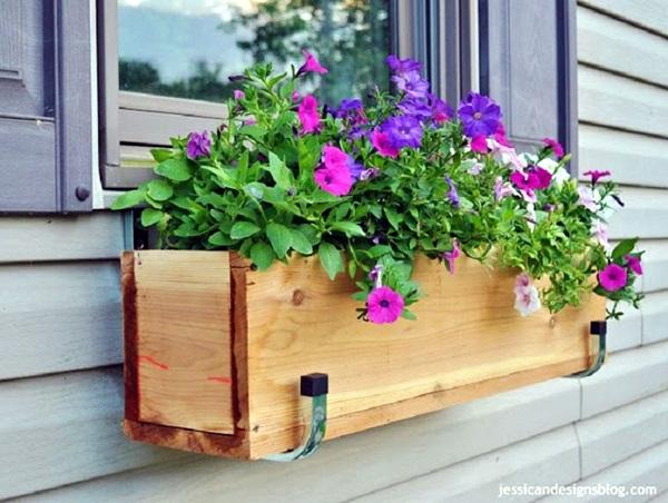 Magical window flower box ideas (8)