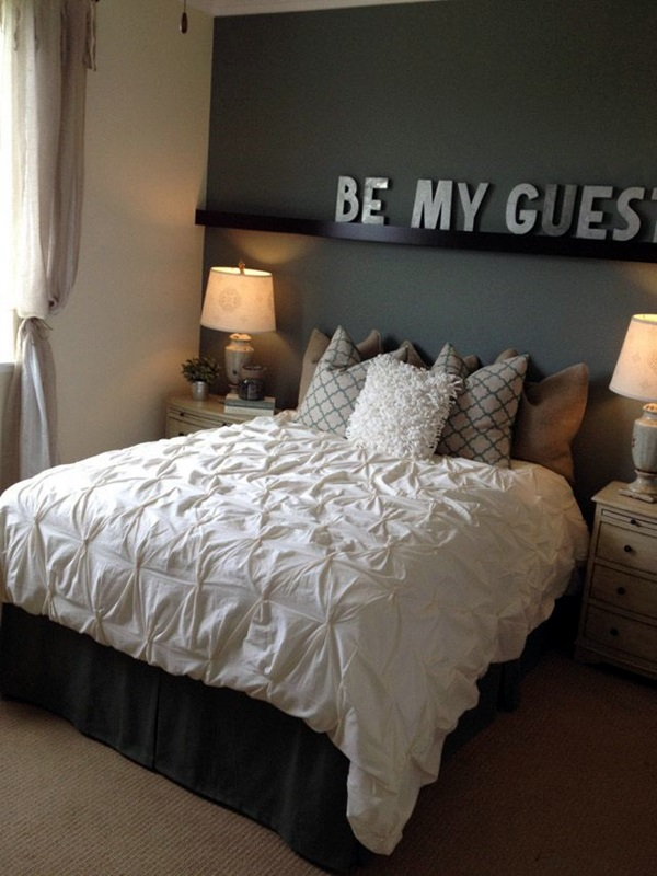 Simple Guest Room Decoration Ideas (24)