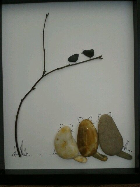 rock and pebble art 11
