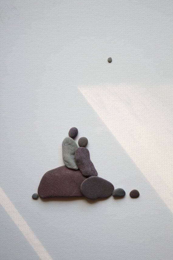 rock and pebble art 12
