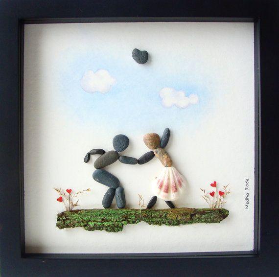 rock and pebble art 5