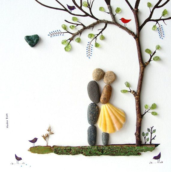 rock and pebble art 8