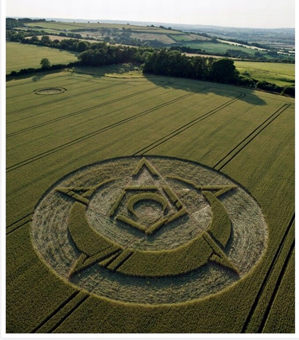 Another World Crop Circle Arts Drawn by Humans (15)