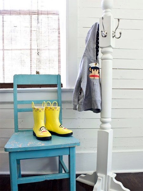 Cool and Creative DIY Coat Rack Ideas (10)