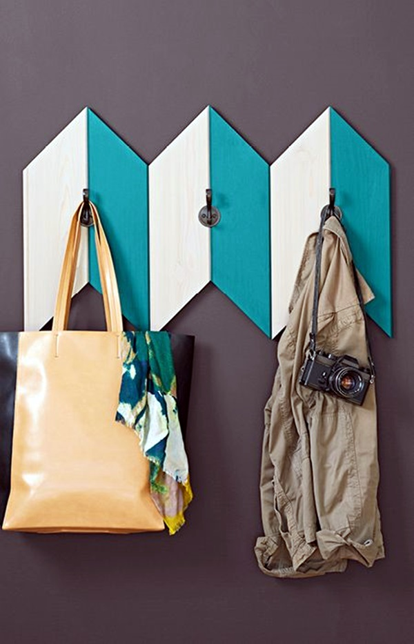 Cool and Creative DIY Coat Rack Ideas (11)