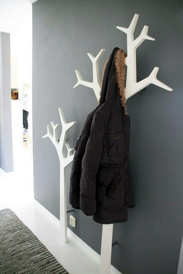 Cool and Creative DIY Coat Rack Ideas (12)