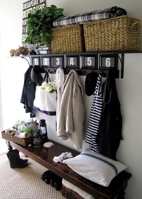 Cool and Creative DIY Coat Rack Ideas (15)