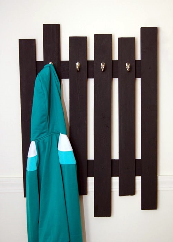 Cool and Creative DIY Coat Rack Ideas (20)